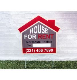 Real Estate For Rent Signs