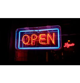 LED Neon light box Signs