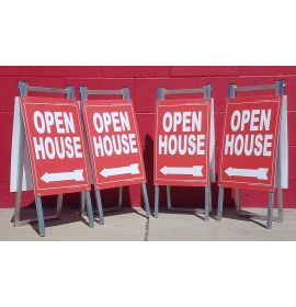 PVC directional signs