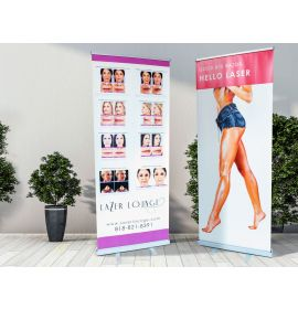 Custom Retractable Roll Up Banners