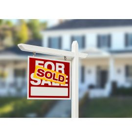 Real Estate Sold Signs