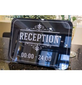Reception Desk Signs